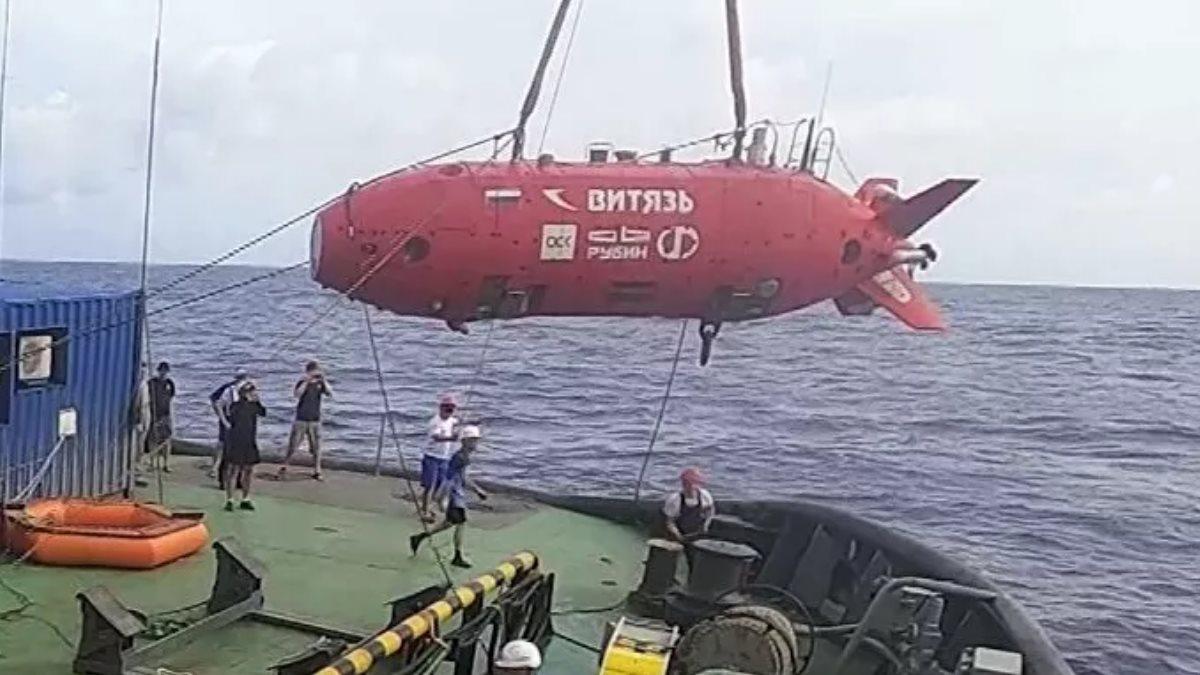Подводный беспилотник Витязь-Д