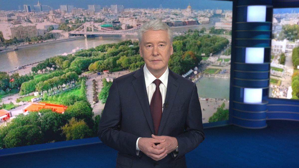 Мэр Москвы Сергей Собянин город