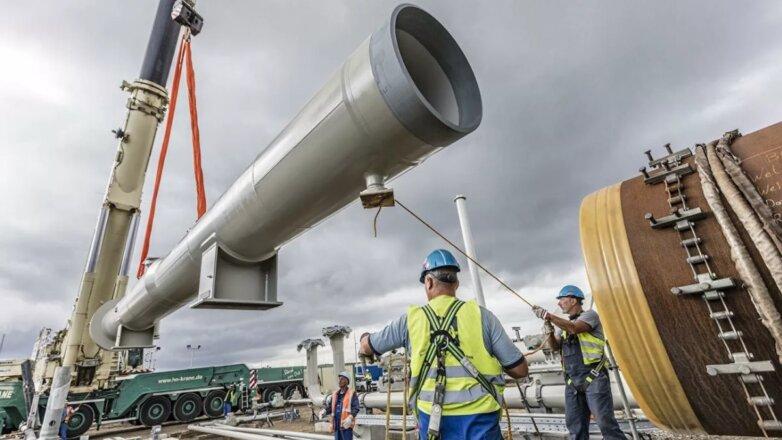 Северный поток 2 газопровод строительство трубы два
