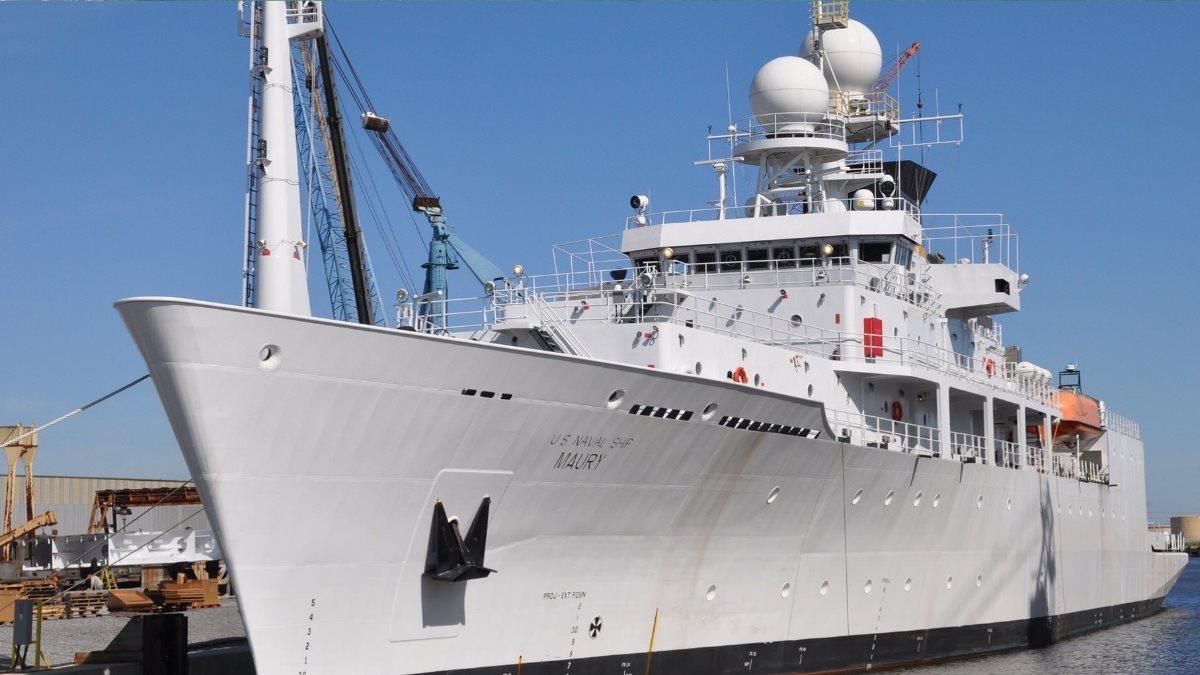 Корабль USNS Maury - T-AGS-66