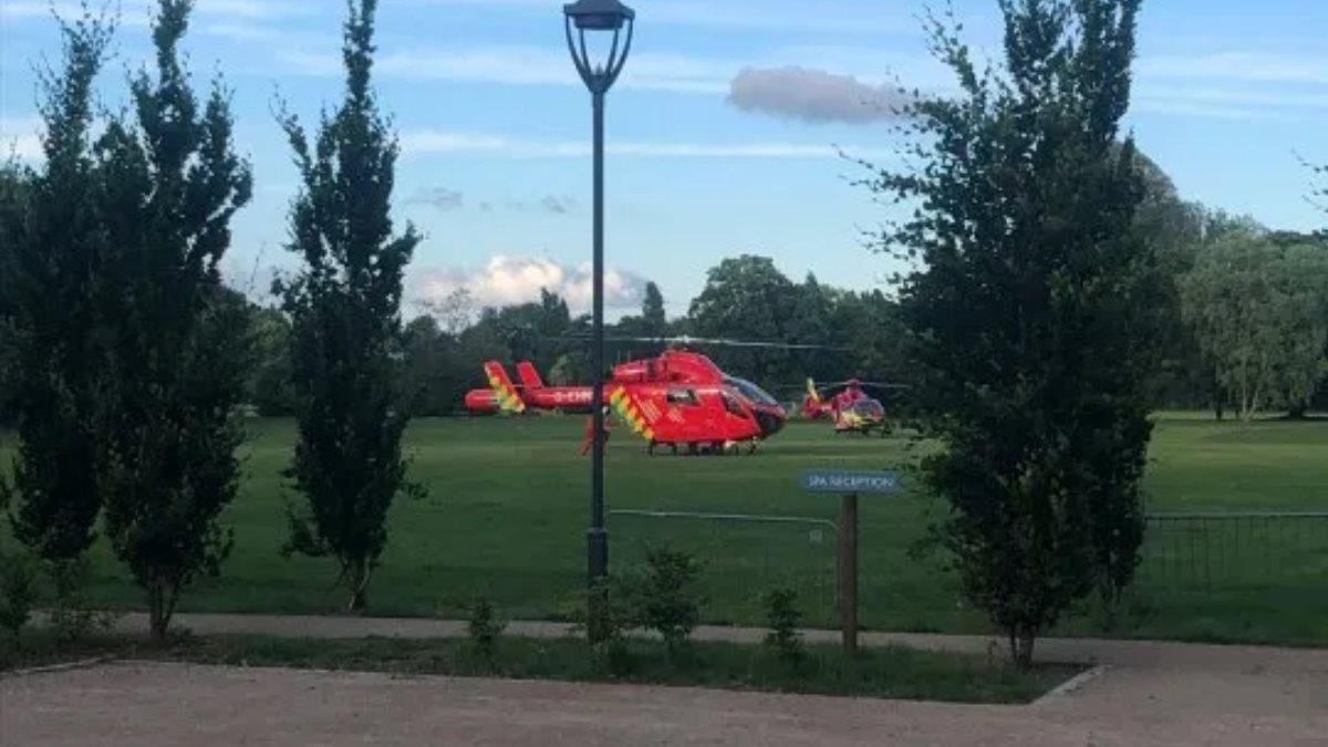 Вертолёты скорой помощи Британия