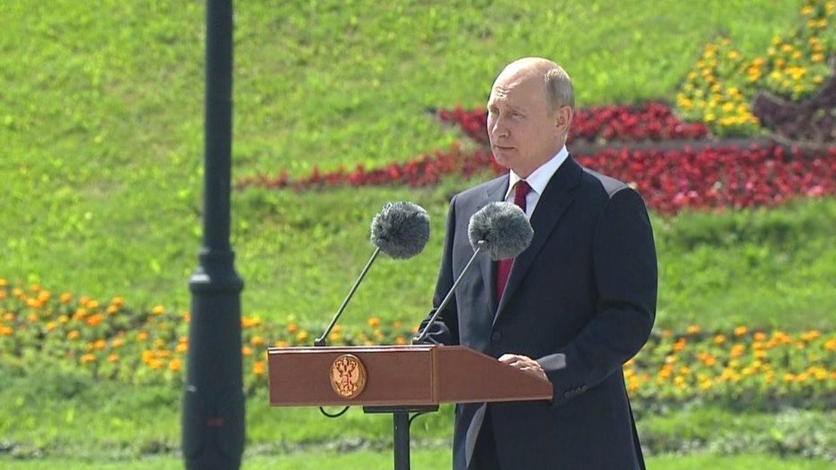 Владимир Путин День России
