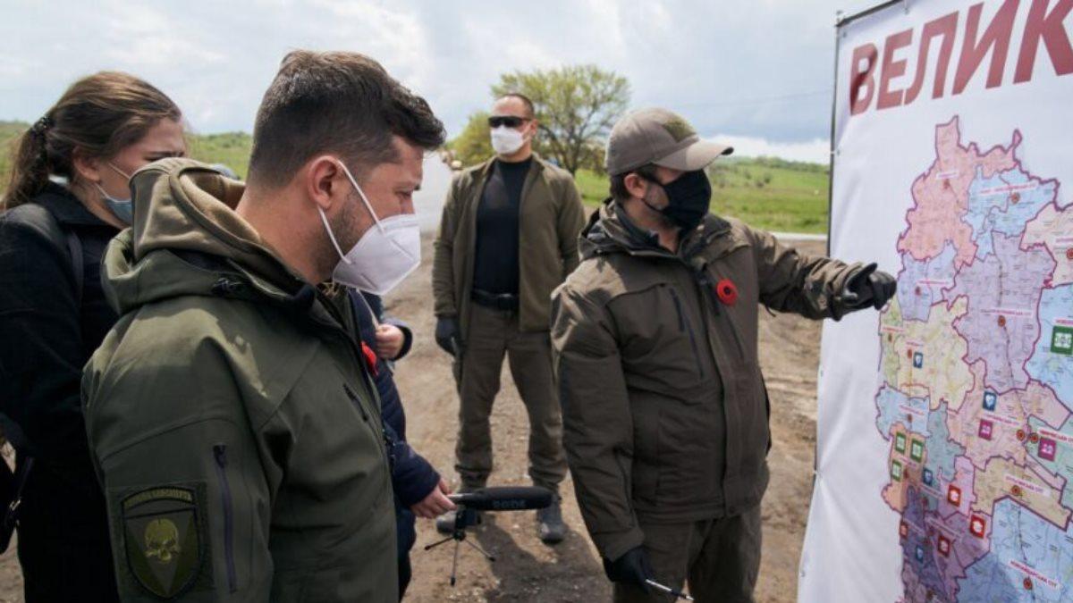 Владимир Зеленский карта военные