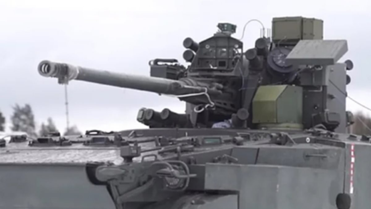Зенитный комплекс 2С38 Деривация-ПВО