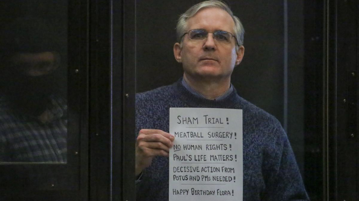 Пол Уилан во время оглашения приговора в Мосгорсуде по обвинению в шпионаже