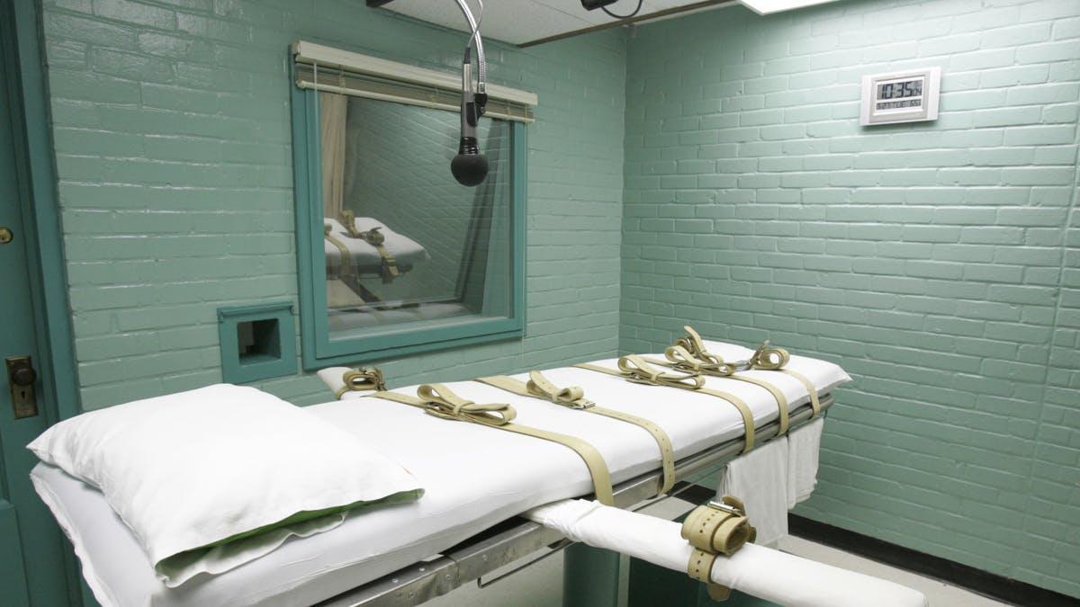 комната для смертной казни через инъекцию в США