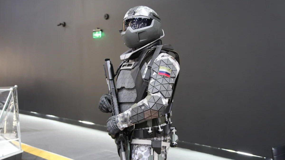 Российская боевая экипировка третьего поколения