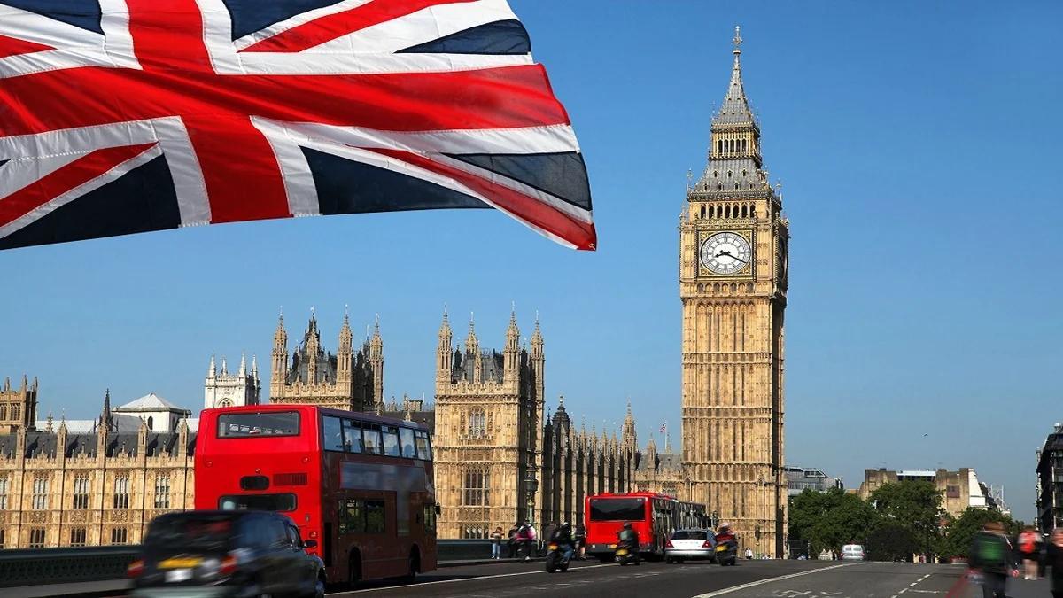 Лондон флаг Британии