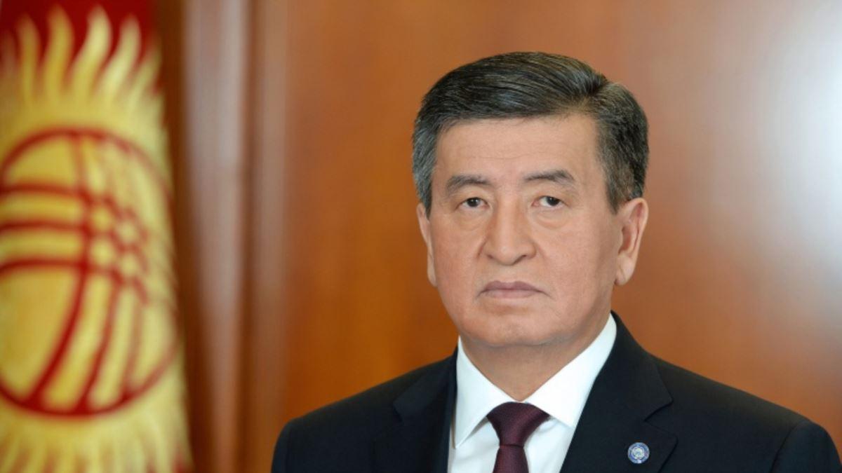 Сооронбек Жээнбеков президент Киргизии