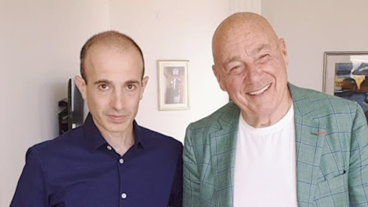 Юваль Харари и Владимир Познер