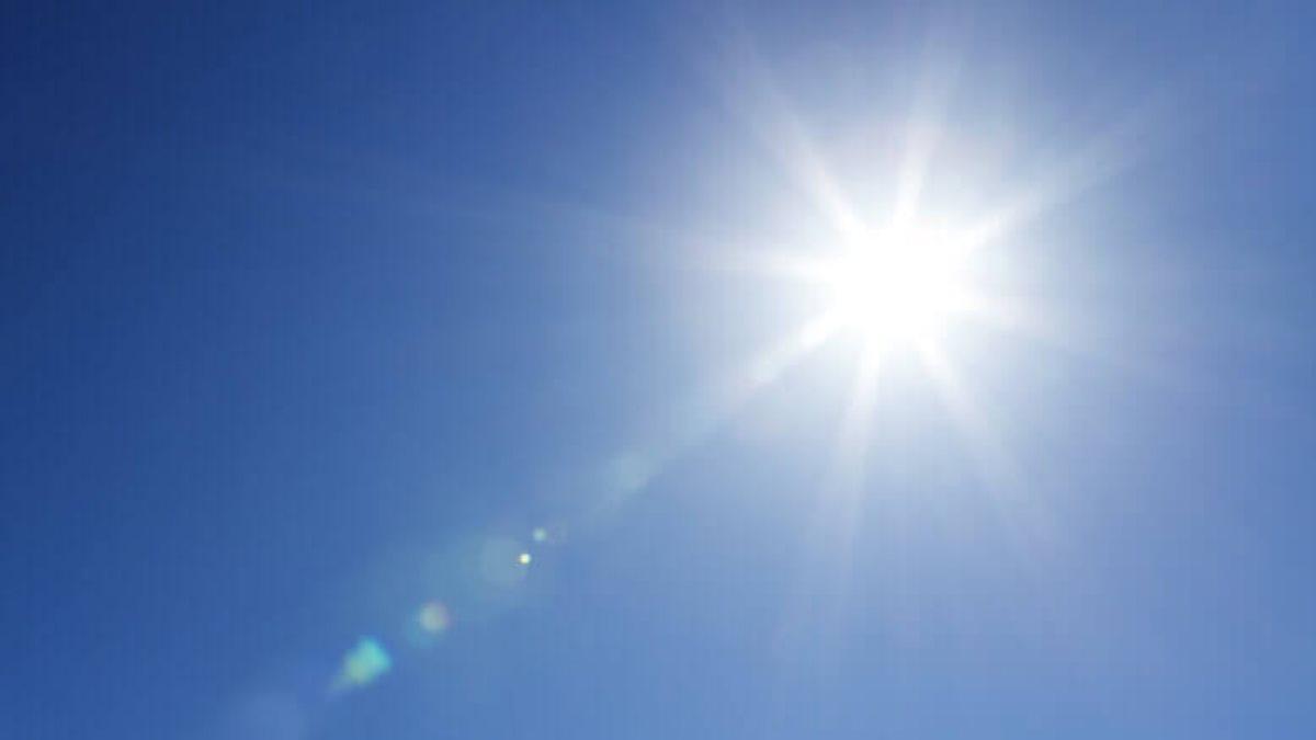 Погода солнце ясное чистое небо