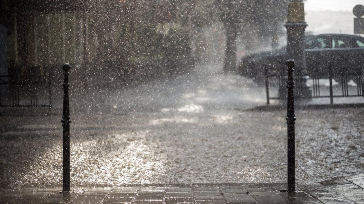 Погода проливной дождь ливень
