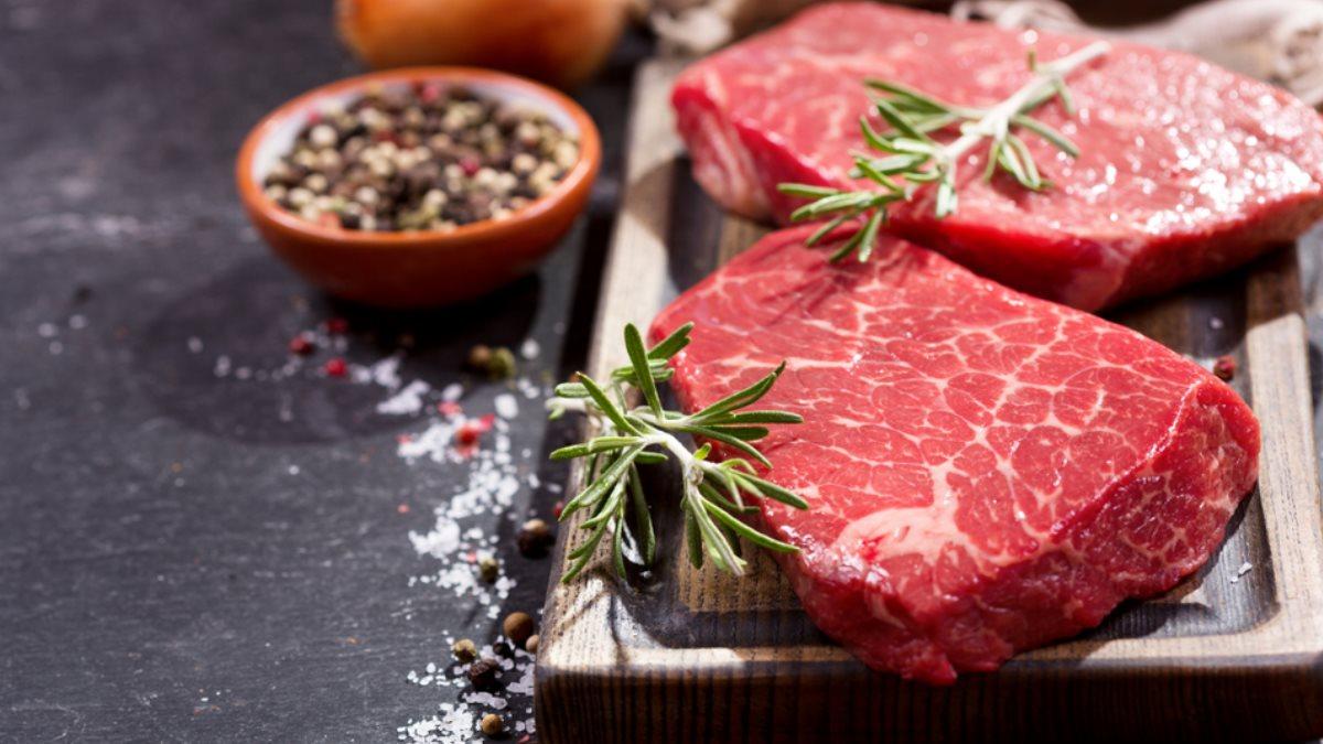 Мясо красное говядина