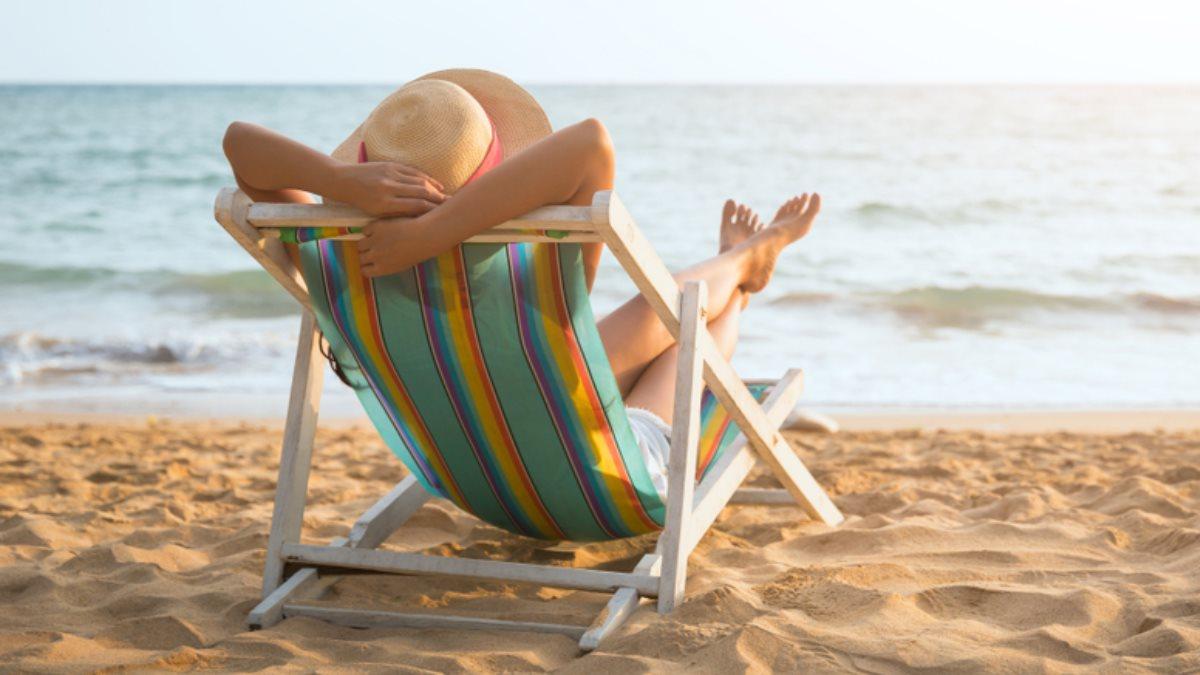 Туризм пляж загар отпуск