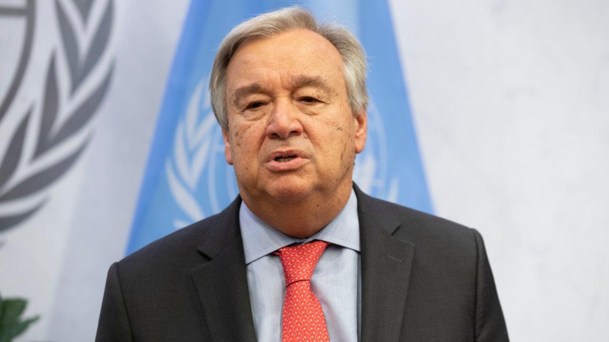Генеральный секретарь ООН Антониу Гутерриш - Antonio Guterres один