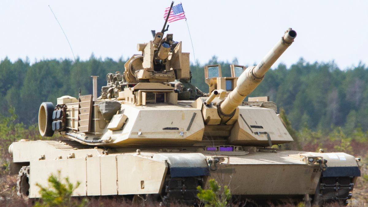 Американский танк M1A2 Abrams