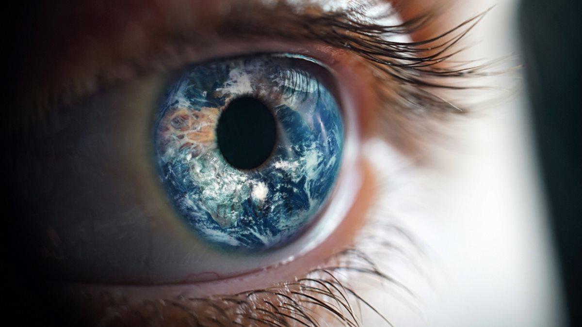 Глаз Планета Земля окружающий мир восприятие зрение
