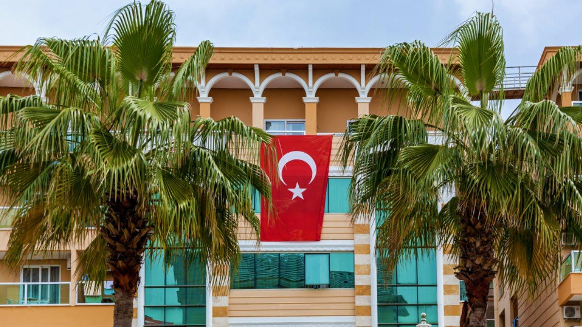 Турция флаг туризм отель