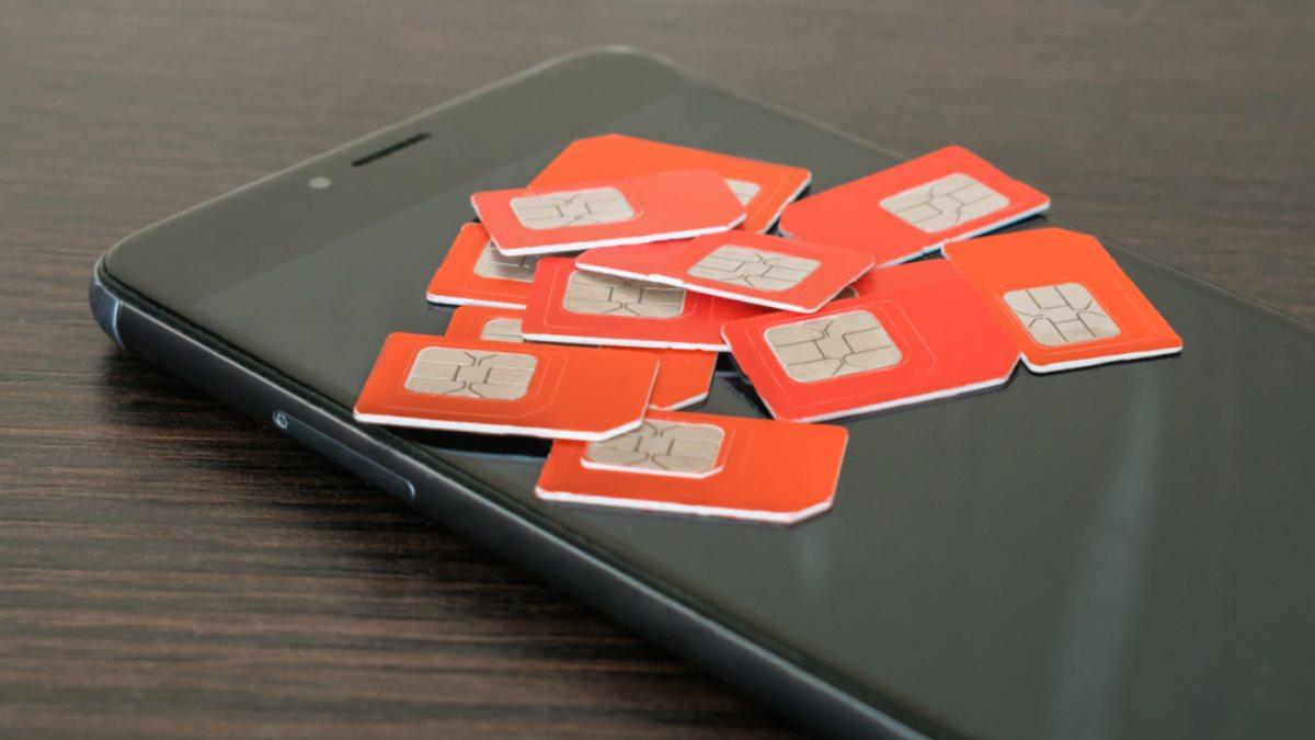 Много Сим-карты SIM-карты телефонное мошенничество