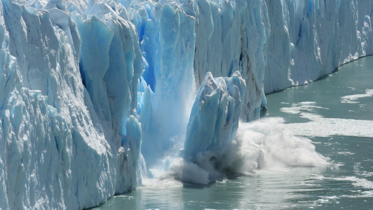 глобальное потепление таяние ледника изменение климата один