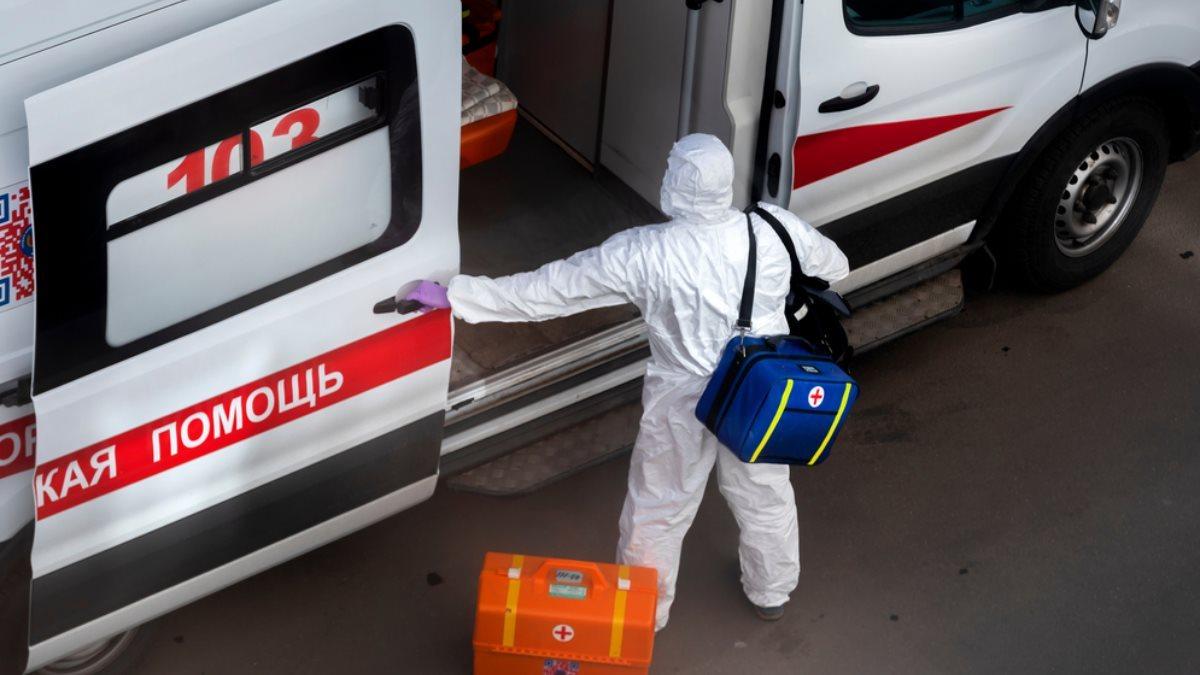 Россия Скорая помощь коронавирус выезд на дом сумка
