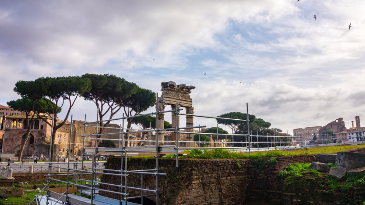 Рим раскопки археология