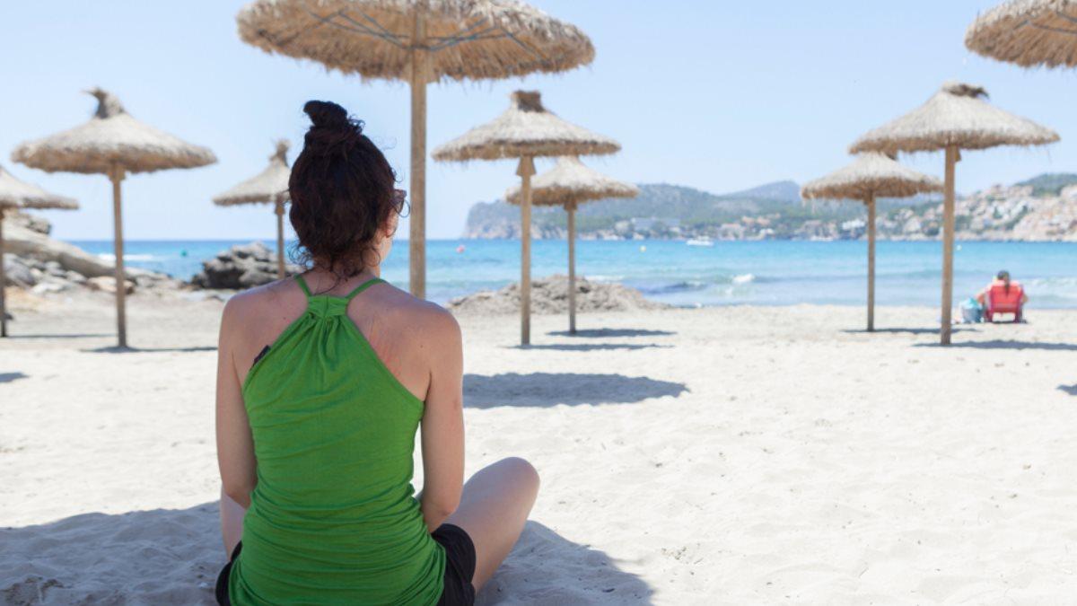 Туризм пляж социальная дистанция коронавирус
