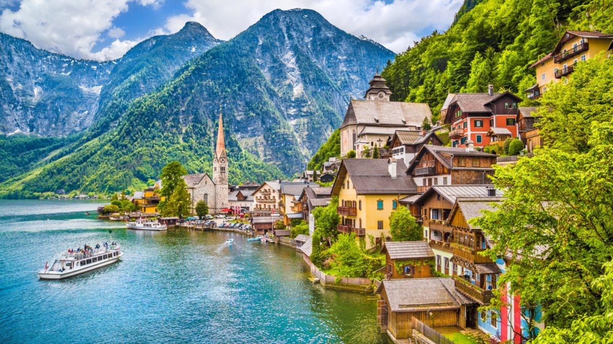 Австрия Альпы туризм