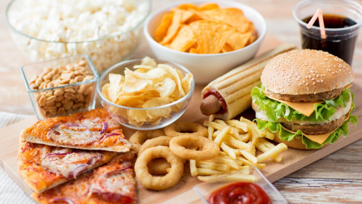 Фастфуд вредная еда один