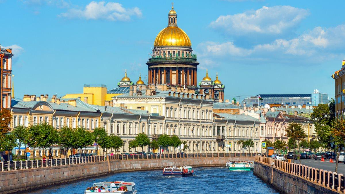 Санкт-Петербург Исаакиевский собор канал