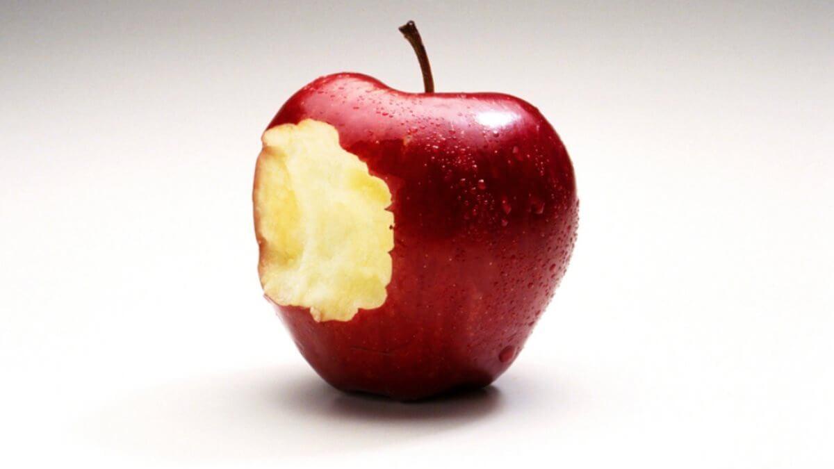 Надкусанное яблоко диета похудение