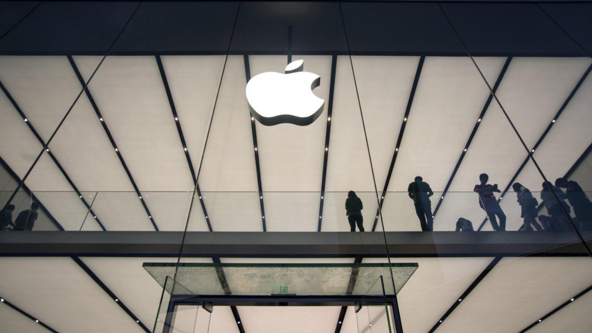 Apple логотип три