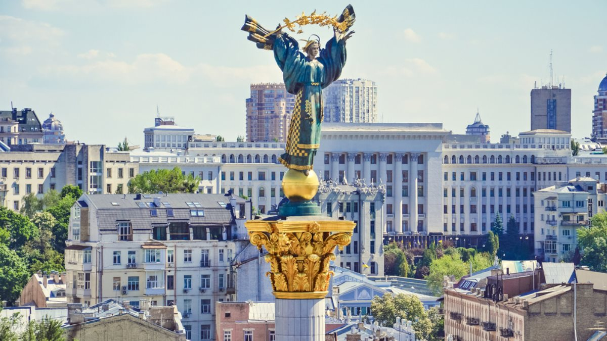 Памятник Независимости Киев Украина