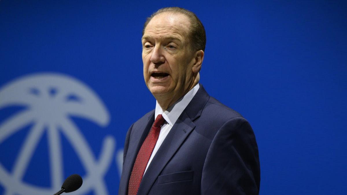 Президент Всемирного банка Дэвид Мэлпас - David Malpass