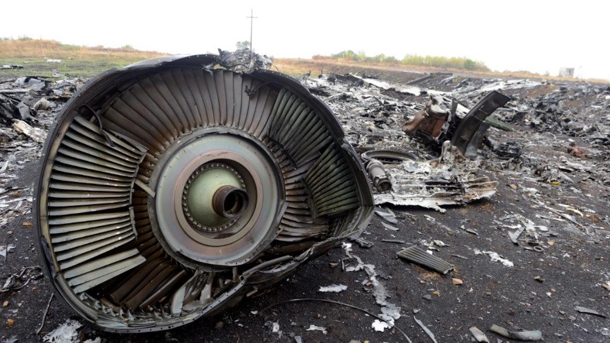 Место крушения малайзийского Boeing 777 рейса MH17 17 июля 2014 года Донецкая область два