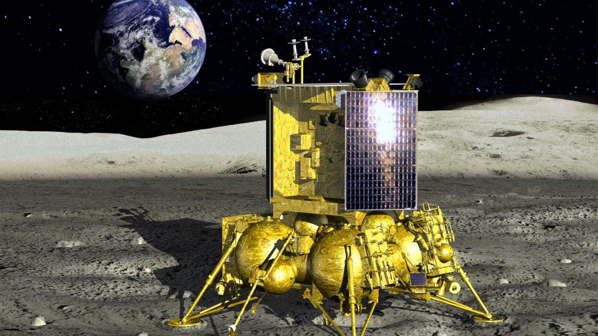 Аппарат Луна-25 - Луна-Глоб