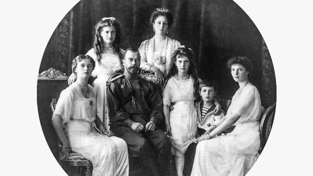 Романовы Царская семья в 1913 году