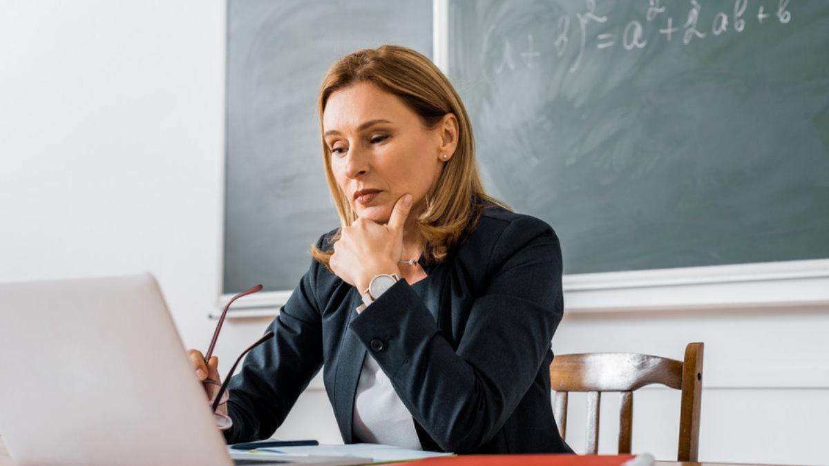 Учительница школа класс математика