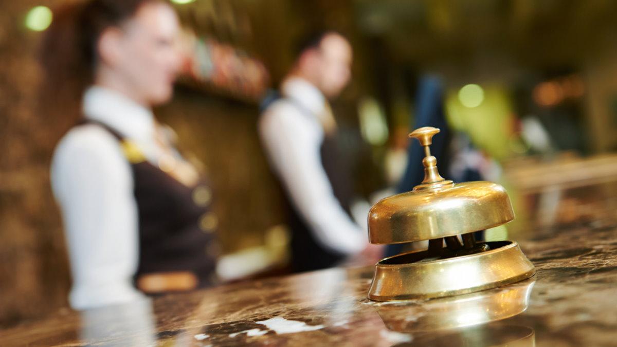 Гостиница отель стойка регистрации ресепшн туризм