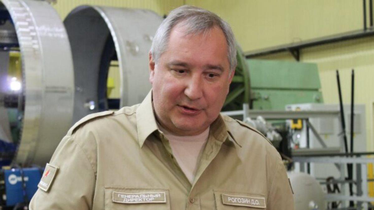 Генеральный директор Роскосмоса Дмитрий Рогозин два