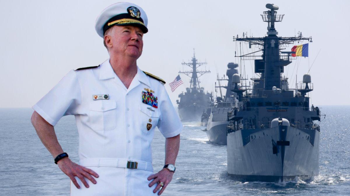 Адмирал ВМС США Джеймс Фогго