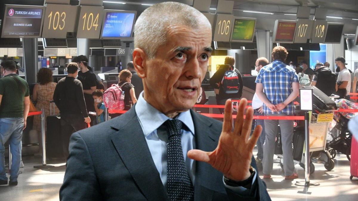 Геннадий Онищенко и регистрация на рейс туризм аэропорт