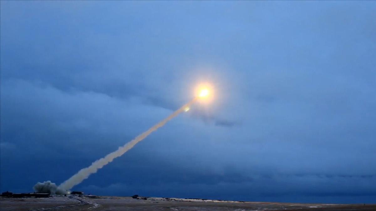 Испытания крылатой ракеты с ядерным двигателем Буревестник