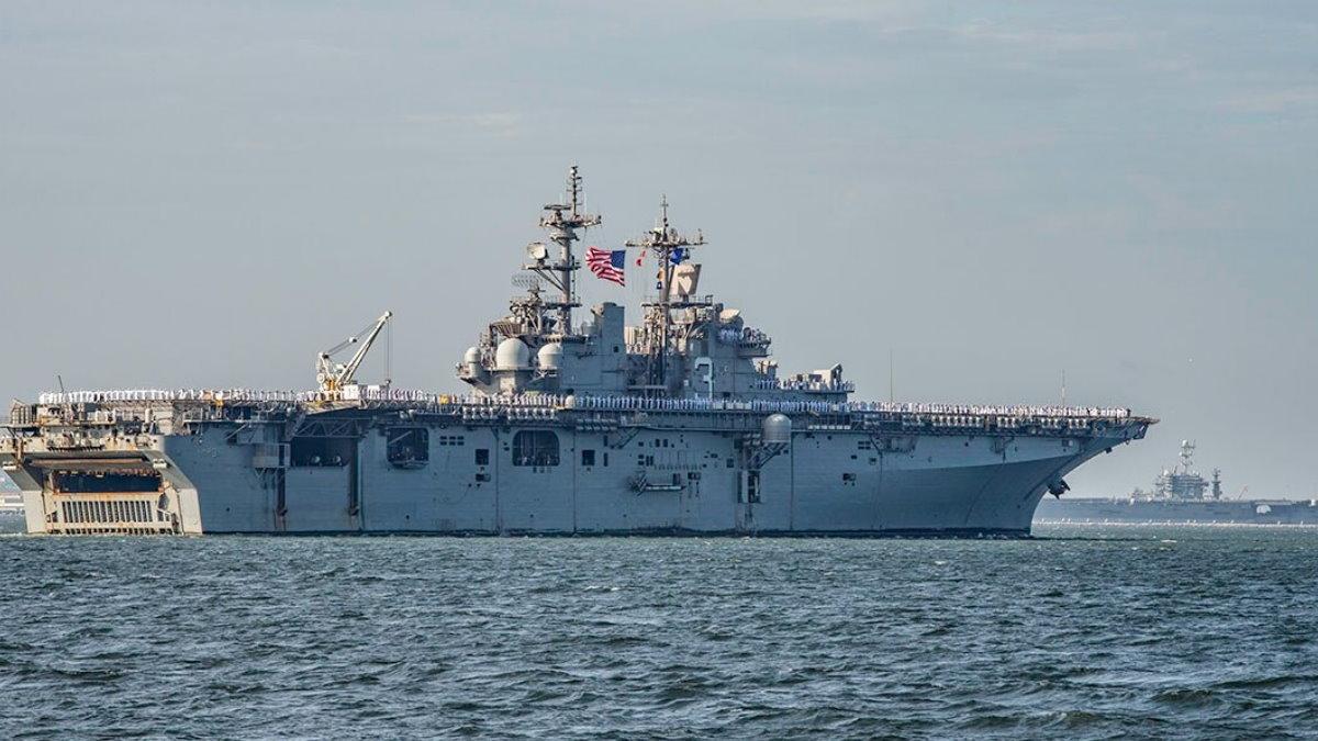 США Универсальный десантный корабль УДК Кирсардж - LHD 3 Kearsarge