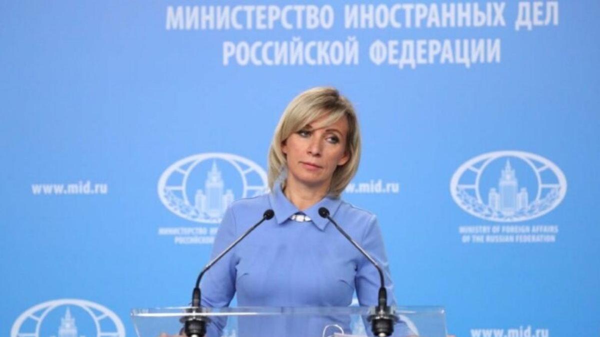 Официальный представитель МИД России Мария Захарова шесть
