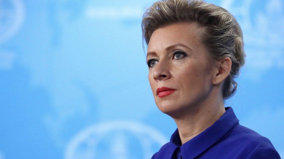 Официальный представитель МИД России Мария Захарова пять