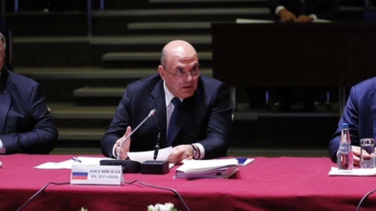 Михаил Мишустин на заседании Евразийского межправительственного совета в Минске