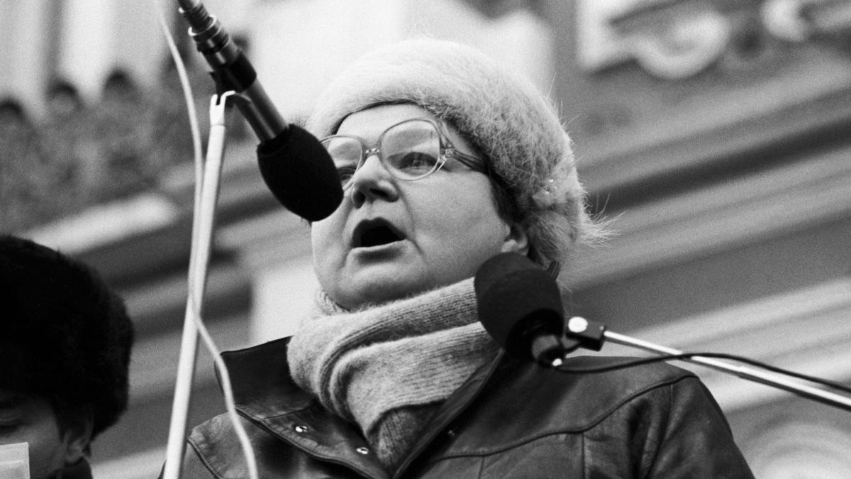 Нина Андреева, архивное фото 1991 года