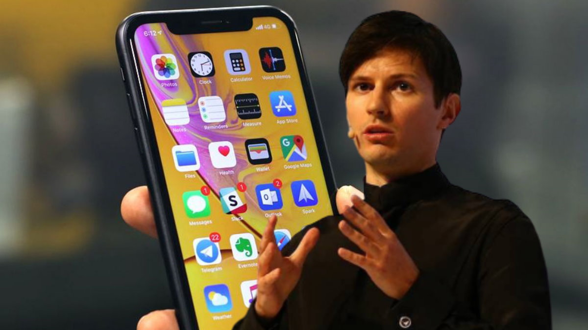 Павел Дуров и Apple iPhone XR