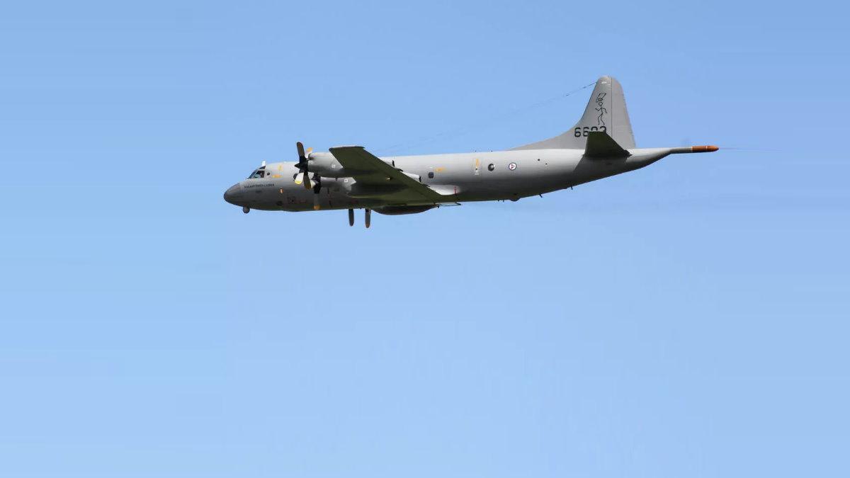 Самолёт Lockheed P-3 Orion норвежских ВВС